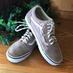 VANS Lavender color sneakers size 7